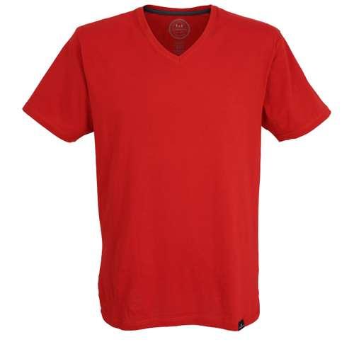 GÖTZBURG Herren T-Shirt rot uni 1er Pack im 0° Winkel