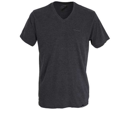 GÖTZBURG Herren T-Shirt grau uni 1er Pack im 0° Winkel
