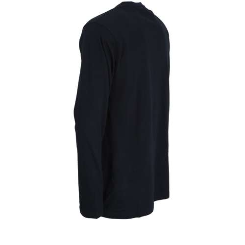 Bild von GÖTZBURG Herren Shirt blau uni 1er Pack 120° Ansicht