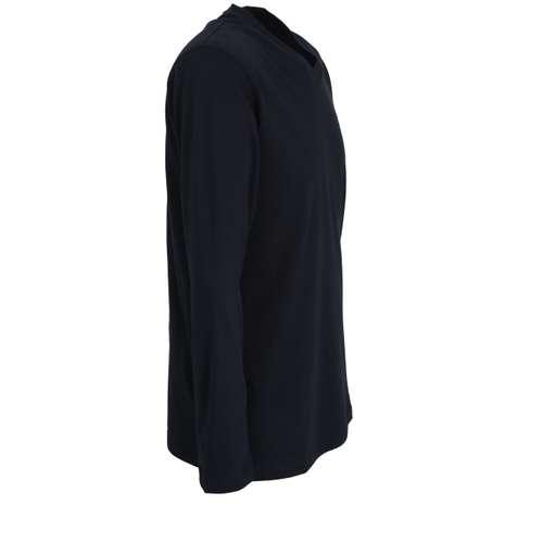 Bild von GÖTZBURG Herren Shirt blau uni 1er Pack 290° Ansicht