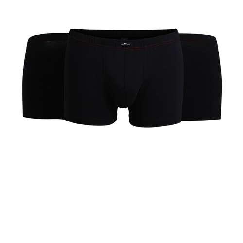 GÖTZBURG Herren Pants schwarz uni 3er Pack im 0° Winkel