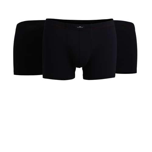 Bild von GÖTZBURG Herren Pants schwarz uni 3er Pack 120° Ansicht