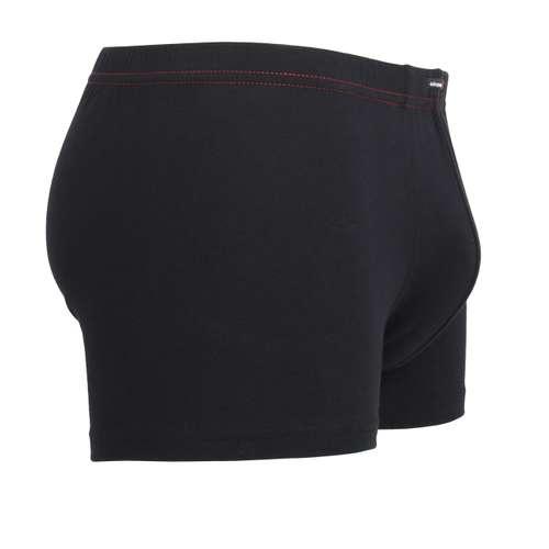 Bild von GÖTZBURG Herren Pants schwarz uni 3er Pack 290° Ansicht