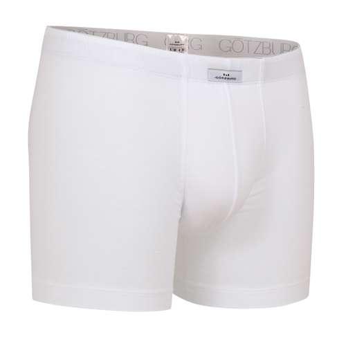 Bild von GÖTZBURG Herren Long-Pants weiß uni 1er Pack 330° Ansicht