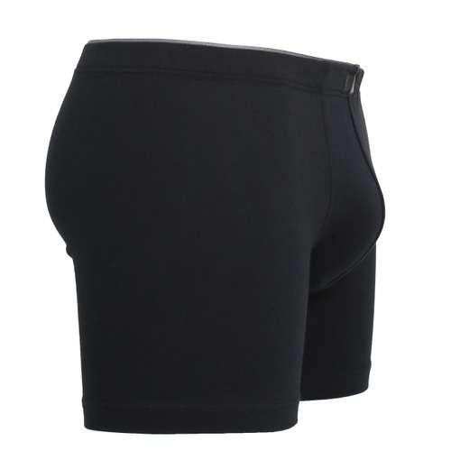 Bild von GÖTZBURG Herren Long-Pants schwarz uni 1er Pack 290° Ansicht