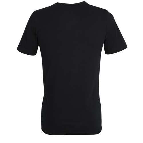 Bild von GÖTZBURG Herren Unterhemd schwarz uni 1er Pack 180° Ansicht
