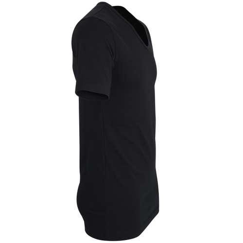 Bild von GÖTZBURG Herren Unterhemd schwarz uni 1er Pack 290° Ansicht