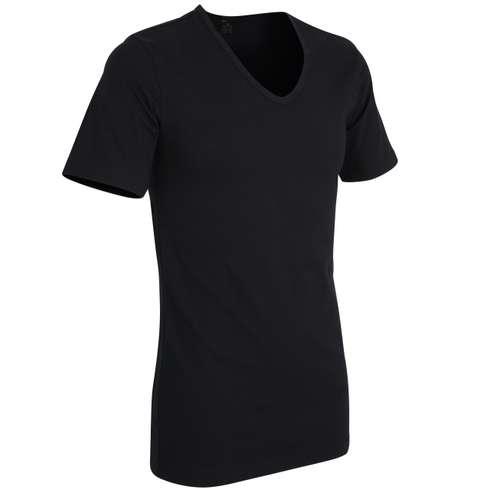 Bild von GÖTZBURG Herren Unterhemd schwarz uni 1er Pack 330° Ansicht