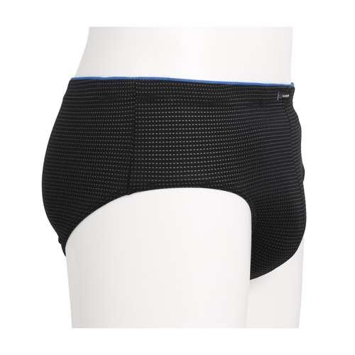 Bild von GÖTZBURG Herren Sport-Slip schwarz minimal 1er Pack 290° Ansicht