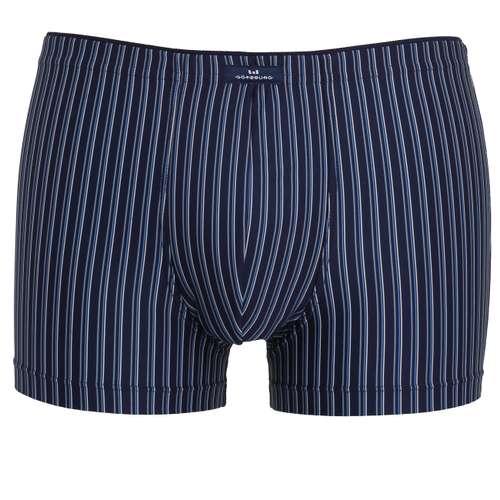 GÖTZBURG Herren Pants blau längsgestreift 1er Pack im 0° Winkel