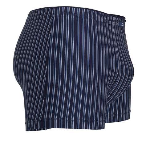 Bild von GÖTZBURG Herren Pants blau längsgestreift 1er Pack 290° Ansicht