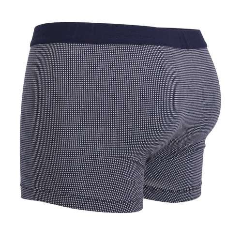 Bild von GÖTZBURG Herren Pants blau bedruckt 1er Pack 120° Ansicht