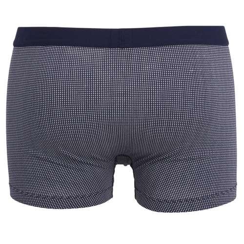 Bild von GÖTZBURG Herren Pants blau bedruckt 1er Pack 180° Ansicht