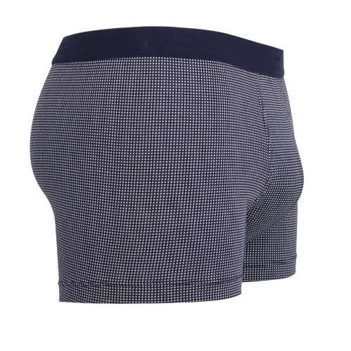 Bild von GÖTZBURG Herren Pants blau bedruckt 1er Pack 290° Ansicht