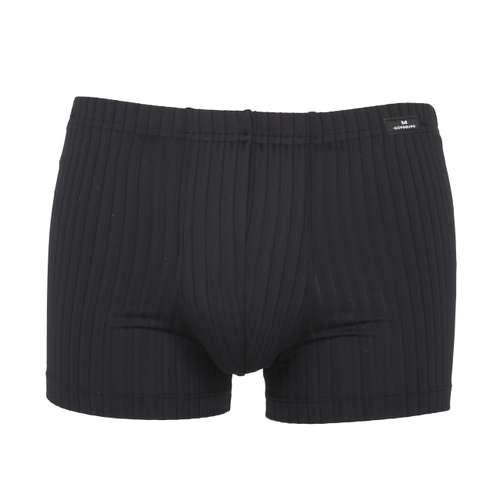 GÖTZBURG Herren Pants schwarz Struktur 1er Pack im 0° Winkel