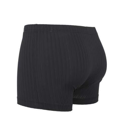 Bild von GÖTZBURG Herren Pants schwarz Struktur 1er Pack 120° Ansicht