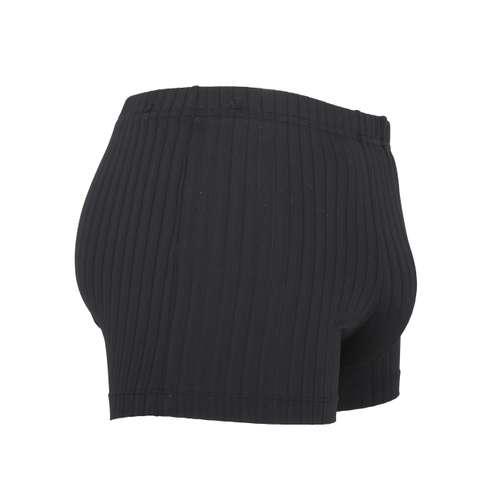 Bild von GÖTZBURG Herren Pants schwarz Struktur 1er Pack 290° Ansicht