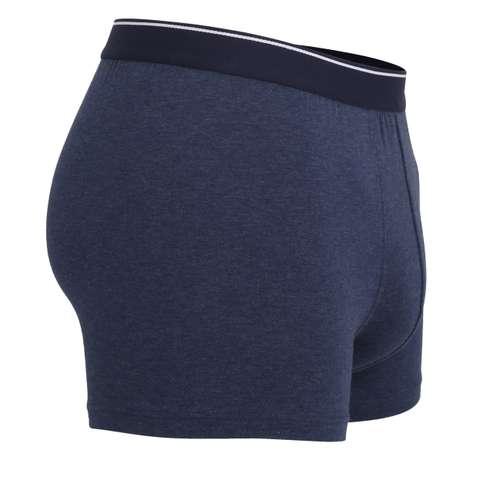 Bild von GÖTZBURG Herren Pants blau melange 2er Pack 290° Ansicht