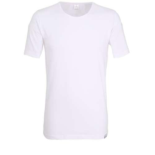 GÖTZBURG Herren T-Shirt weiß uni 1er Pack im 0° Winkel