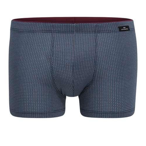 GÖTZBURG Herren Pants blau bedruckt 1er Pack im 0° Winkel