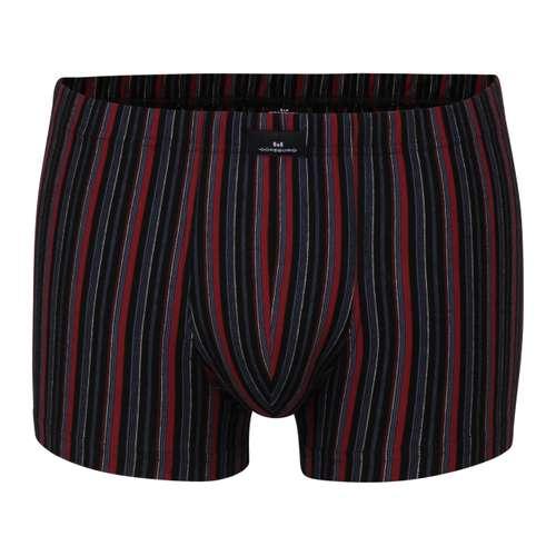 GÖTZBURG Herren Pants rot längsgestreift 1er Pack im 0° Winkel