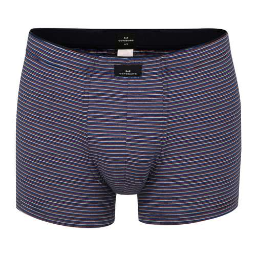 GÖTZBURG Herren Pants schwarz quergestreift 1er Pack im 0° Winkel