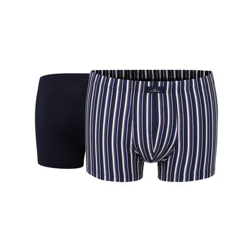 GÖTZBURG Herren Pants blau längsgestreift 2er Pack im 0° Winkel