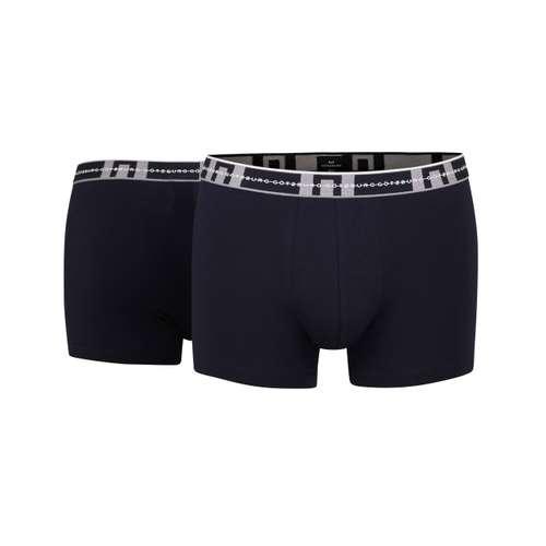 GÖTZBURG Herren 2er Pack Pants dunkelblau mit ANTI-RUTSCH-BUND im 0° Winkel