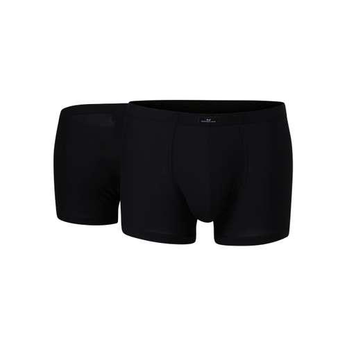 GÖTZBURG Herren Pants schwarz uni 2er Pack im 0° Winkel
