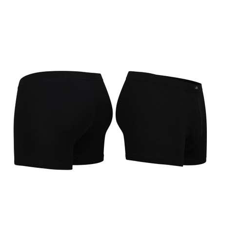 Bild von GÖTZBURG Herren Pants schwarz uni 2er Pack 120° Ansicht