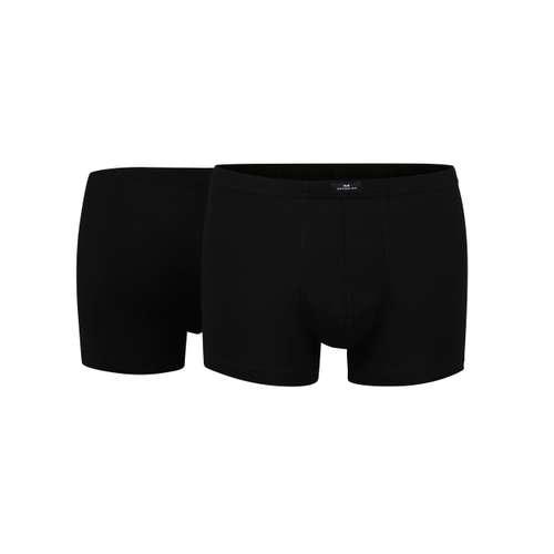 Bild von GÖTZBURG Herren Pants schwarz uni 2er Pack 180° Ansicht