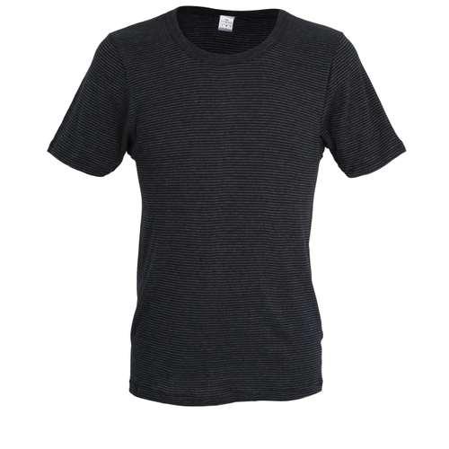 GÖTZBURG Herren Premium T-Shirt grau quergestreift 1er Pack im 0° Winkel