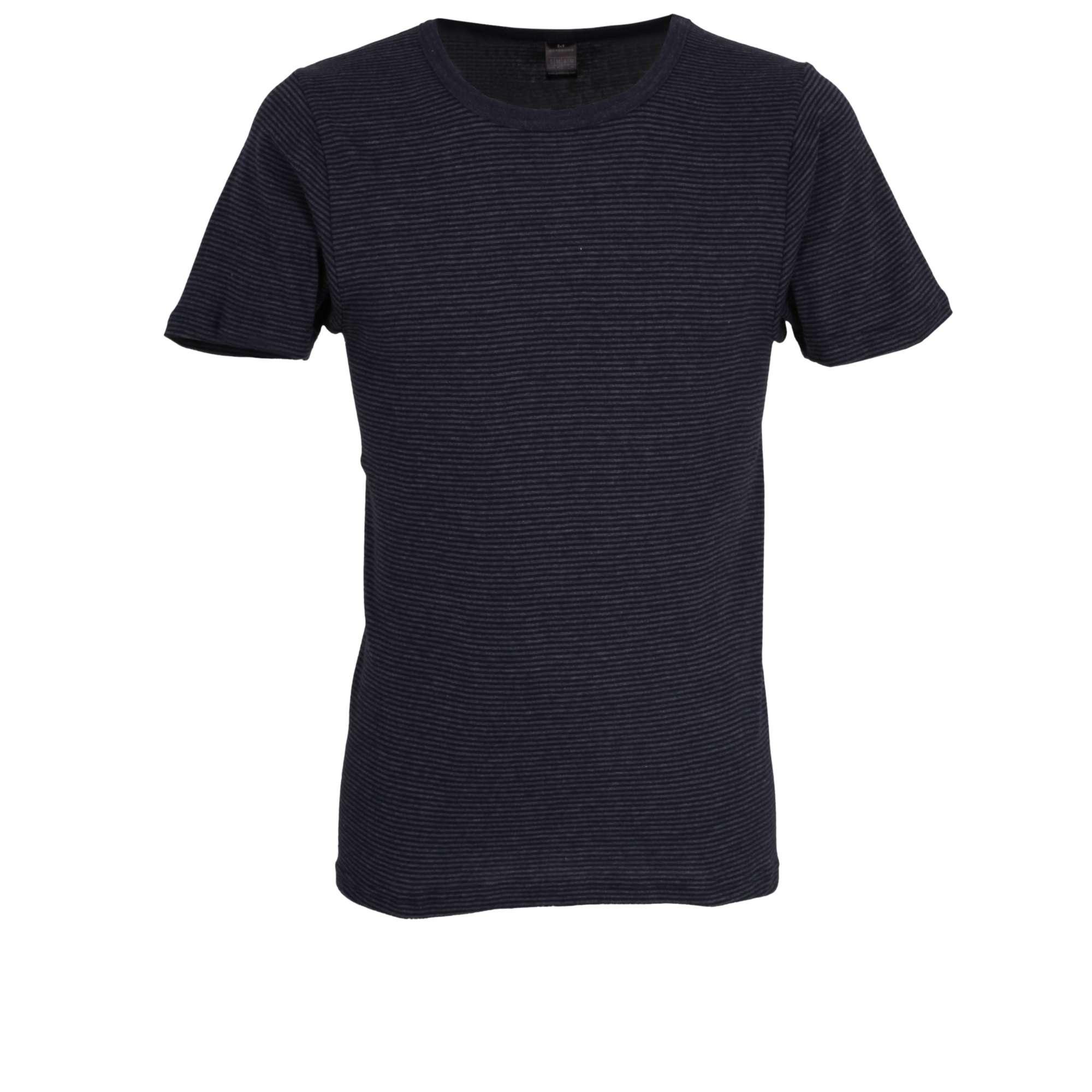 meet b6fcb 30f4a GÖTZBURG Herren T-Shirt blau quergestreift 1er Pack jetzt kaufen