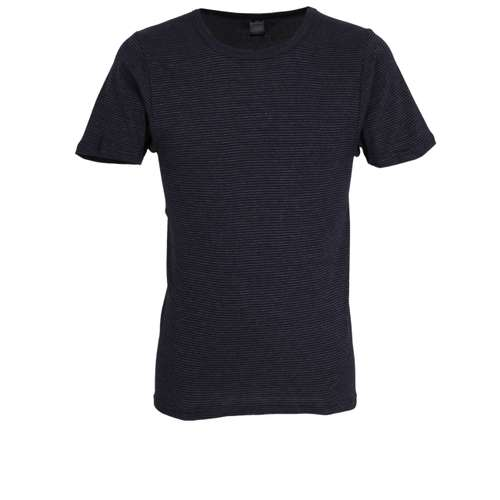 GÖTZBURG Herren T-Shirt blau quergestreift 1er Pack im 0° Winkel
