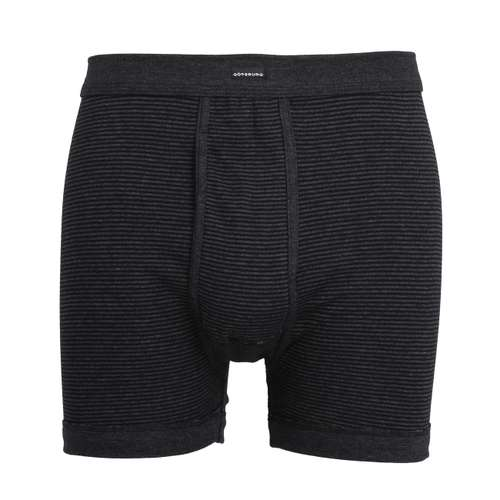 GÖTZBURG Herren Premium Long-Pants grau quergestreift 1er Pack im 0° Winkel