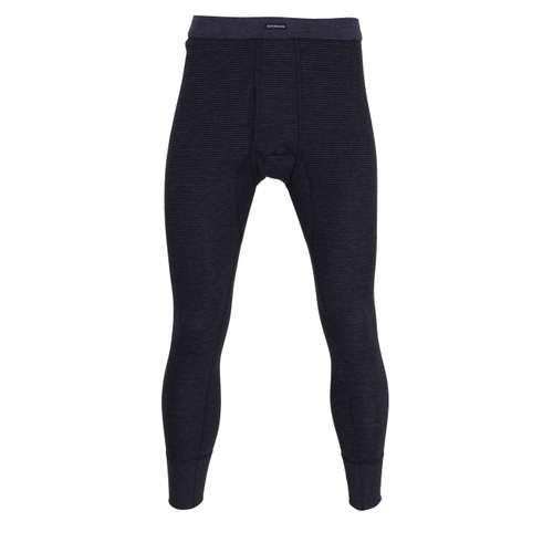 GÖTZBURG Herren lange Unterhose blau quergestreift 1er Pack im 0° Winkel