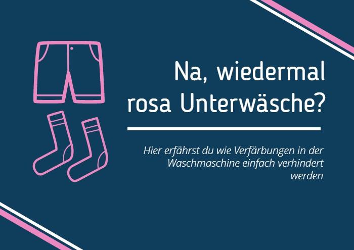 Rosa Unterwäsche
